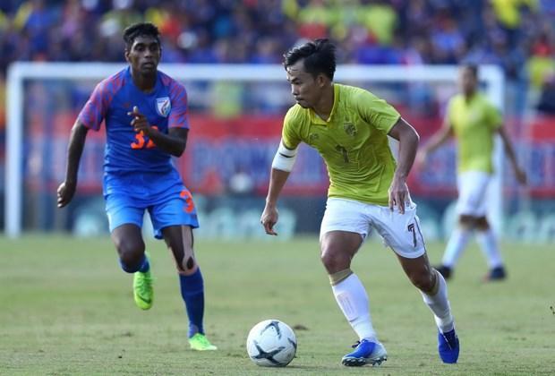 Thua Ấn Độ, Thái Lan xếp cuối tại King's Cup 2019 Ảnh 1