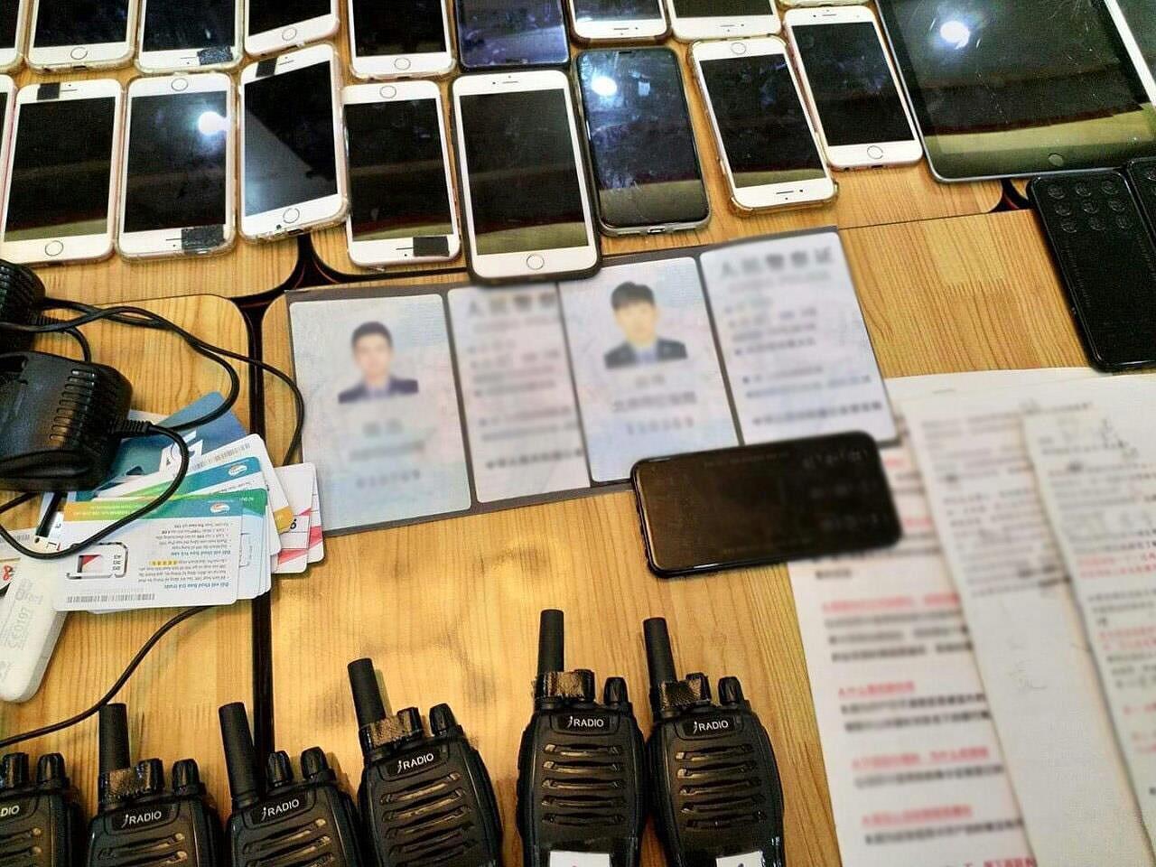 Phát hiện nhóm người Trung Quốc sử dụng công nghệ cao để lừa đảo chiếm đoạt tài sản Ảnh 2