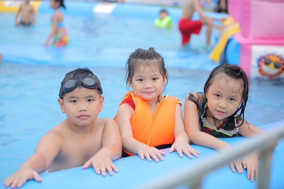 Loạt công viên nước quanh Hà Nội, TP.HCM xua tan nắng nóng ngày hè Ảnh 5