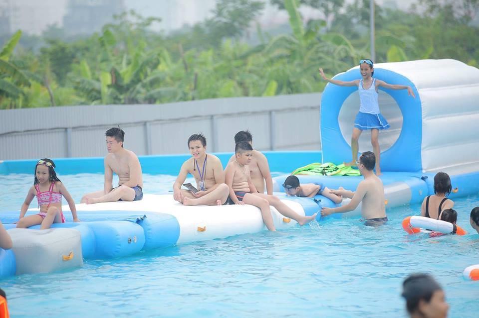 Loạt công viên nước quanh Hà Nội, TP.HCM xua tan nắng nóng ngày hè Ảnh 7