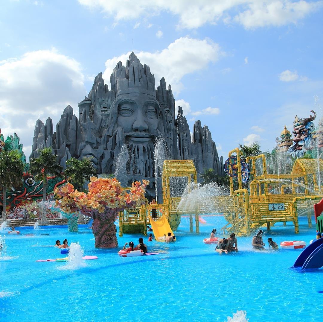 Loạt công viên nước quanh Hà Nội, TP.HCM xua tan nắng nóng ngày hè Ảnh 19