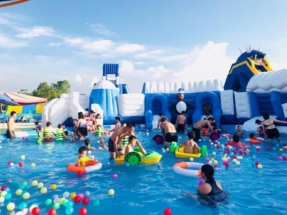 Loạt công viên nước quanh Hà Nội, TP.HCM xua tan nắng nóng ngày hè Ảnh 6
