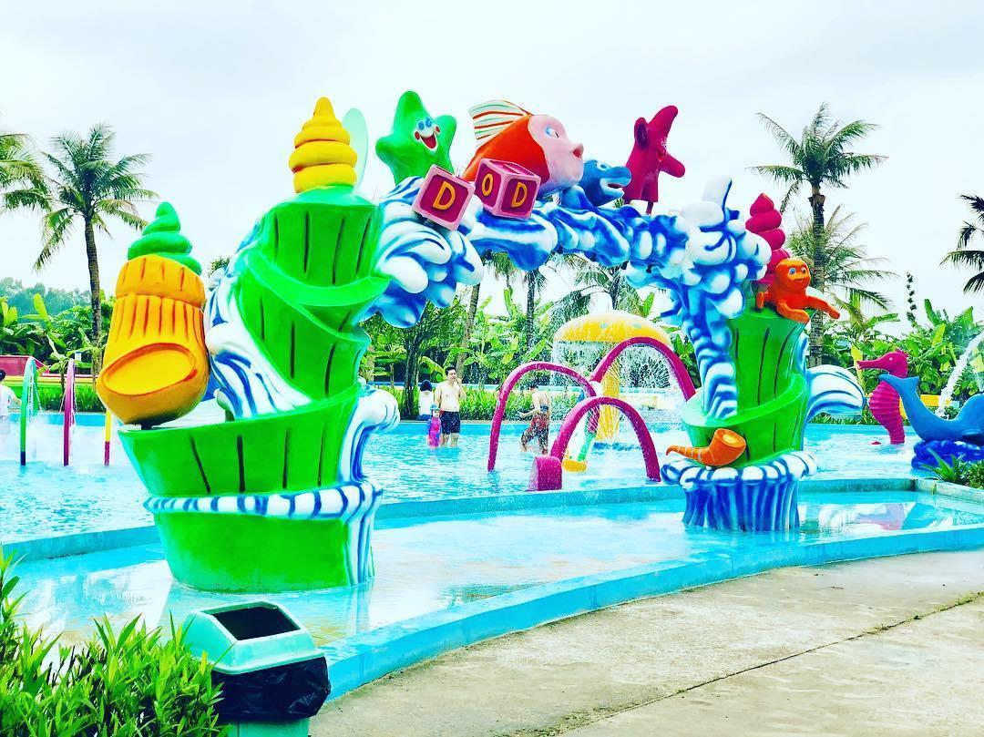 Loạt công viên nước quanh Hà Nội, TP.HCM xua tan nắng nóng ngày hè Ảnh 2