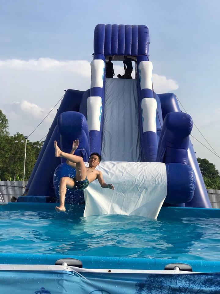 Loạt công viên nước quanh Hà Nội, TP.HCM xua tan nắng nóng ngày hè Ảnh 8