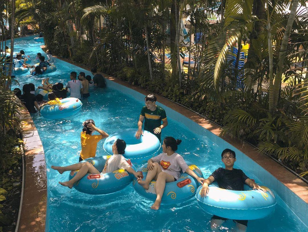 Loạt công viên nước quanh Hà Nội, TP.HCM xua tan nắng nóng ngày hè Ảnh 15