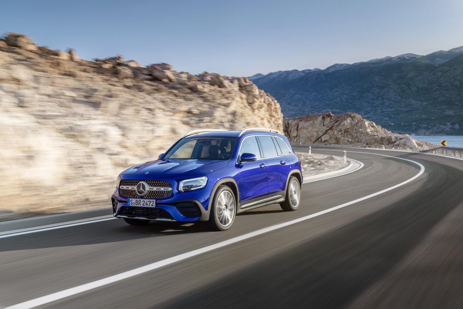 Ngắm trước Mercedes GLB sắp ra mắt với lựa chọn 7 chỗ Ảnh 1