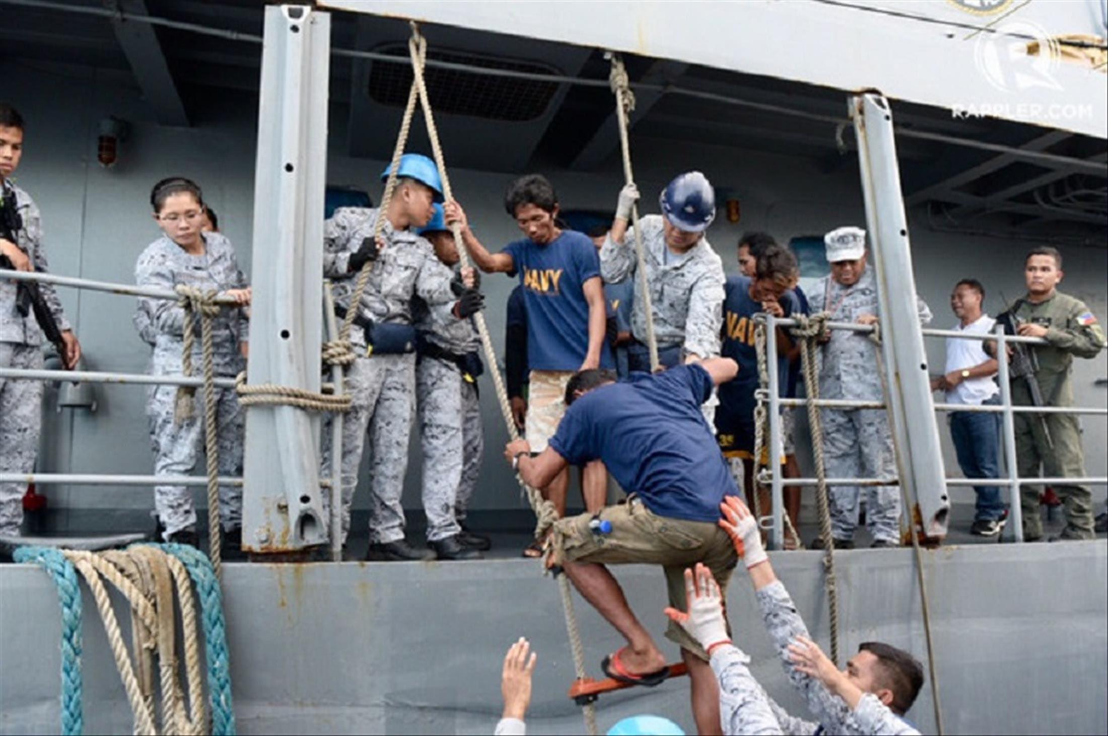 Chủ tàu cá kể chuyện cứu 22 thuyền viên Philippines gặp nạn