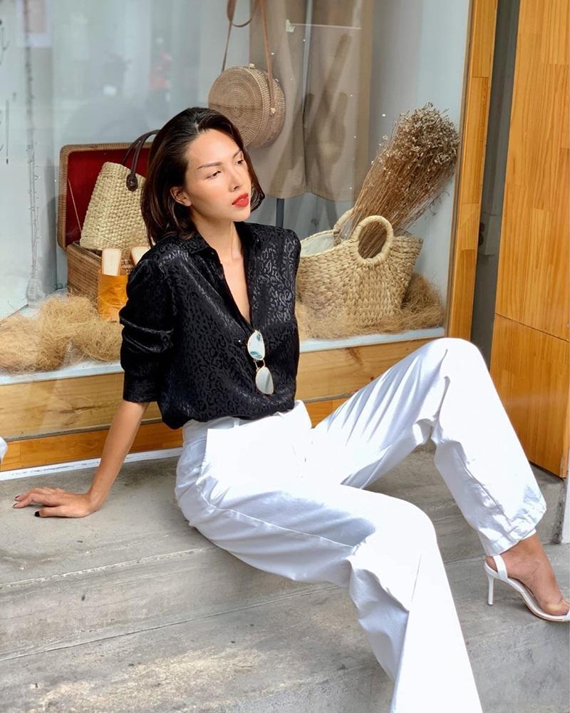Street style sao Việt tuần qua: Diệp Lâm Anh bầu bí vẫn sexy, Chi Pu, Minh Hằng gợi cảm hết mực Ảnh 7