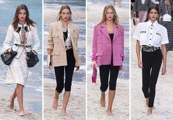 Áo khoác Chanel hồng rực làm cả thiên thần nội y Liu Wen đến fashionista Châu Bùi chao đảo Ảnh 3
