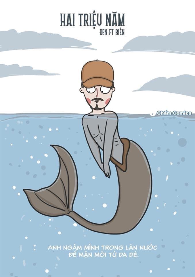 Quái vật 'Đen Loch Ness' và loạt ảnh chế Đen Vâu trong MV mới Ảnh 6