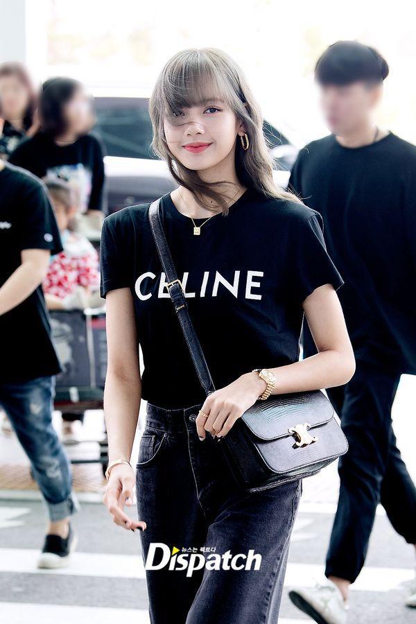 Từ sân bay tới đường phố, Lisa (BlackPink) gây bão với trang phục giản dị nhưng ai dè lại siêu đắt Ảnh 3