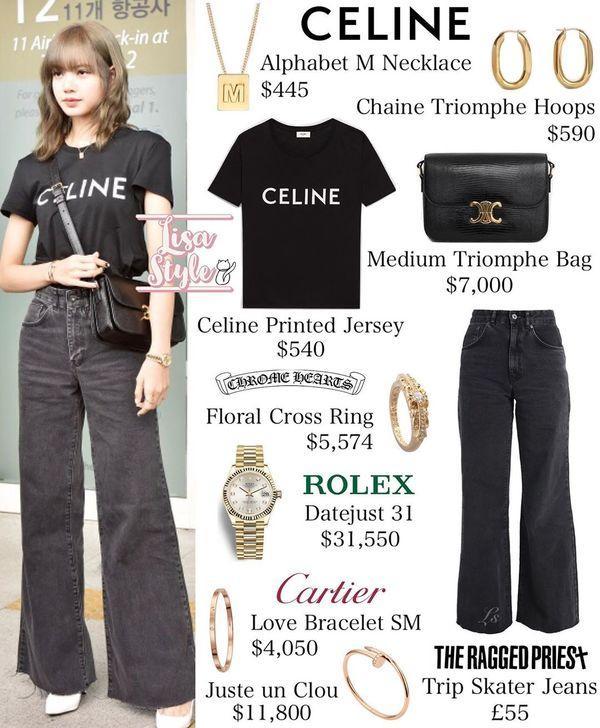 Từ sân bay tới đường phố, Lisa (BlackPink) gây bão với trang phục giản dị nhưng ai dè lại siêu đắt Ảnh 4