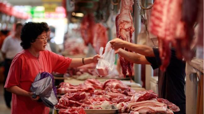 Trung Quốc nhập khẩu thịt lợn tăng kỷ lục vì dịch tả lợn châu Phi Ảnh 1
