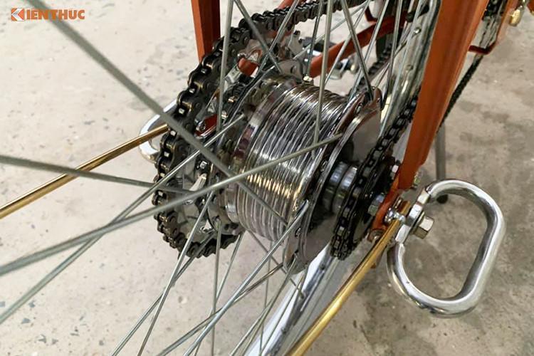 Xe máy đạp Mobylette 'huyền thoại' chỉ 30 triệu ở Sài Gòn Ảnh 7
