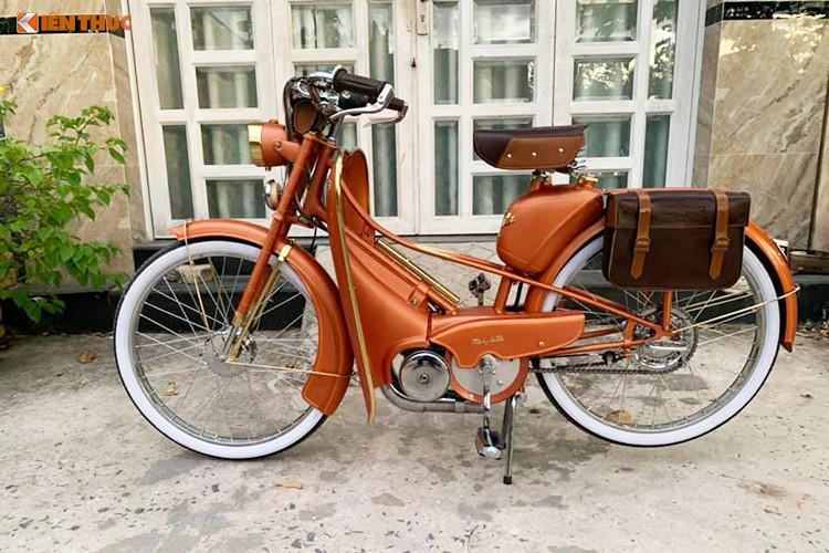 Xe máy đạp Mobylette 'huyền thoại' chỉ 30 triệu ở Sài Gòn Ảnh 1
