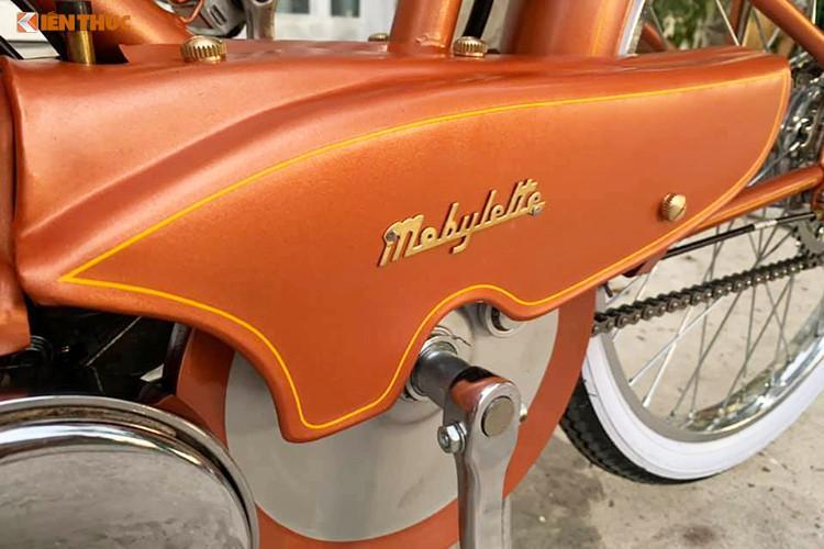 Xe máy đạp Mobylette 'huyền thoại' chỉ 30 triệu ở Sài Gòn Ảnh 8