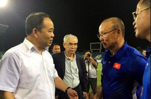 Phó Chủ tịch VFF 'đứt gánh', gia hạn hợp đồng với ông Park có đình trệ? Ảnh 1