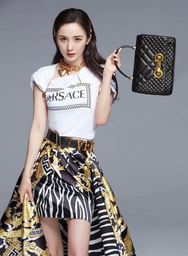 Gái một con Dương Mịch trở thành gương mặt đại diện Trung Quốc đầu tiên cho Versace Ảnh 2
