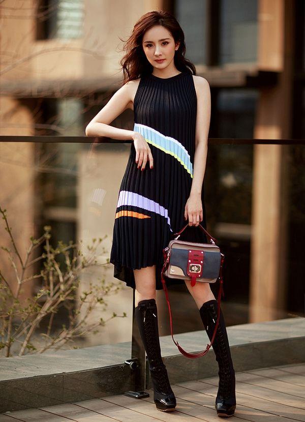 Gái một con Dương Mịch trở thành gương mặt đại diện Trung Quốc đầu tiên cho Versace Ảnh 8