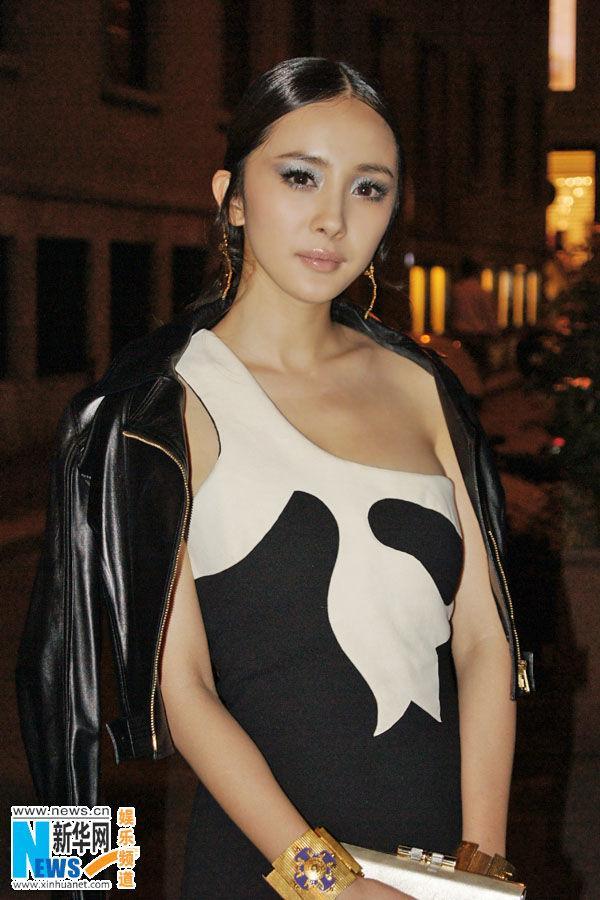 Gái một con Dương Mịch trở thành gương mặt đại diện Trung Quốc đầu tiên cho Versace Ảnh 7