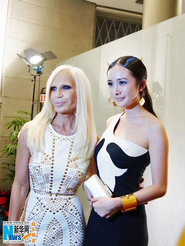 Gái một con Dương Mịch trở thành gương mặt đại diện Trung Quốc đầu tiên cho Versace Ảnh 6
