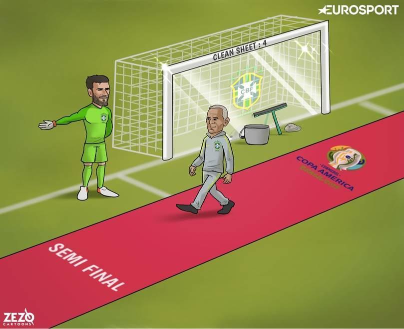 Biếm họa 24h: Colombia nhận cái kết đắng, Messi đọ sức Coutinho Ảnh 3