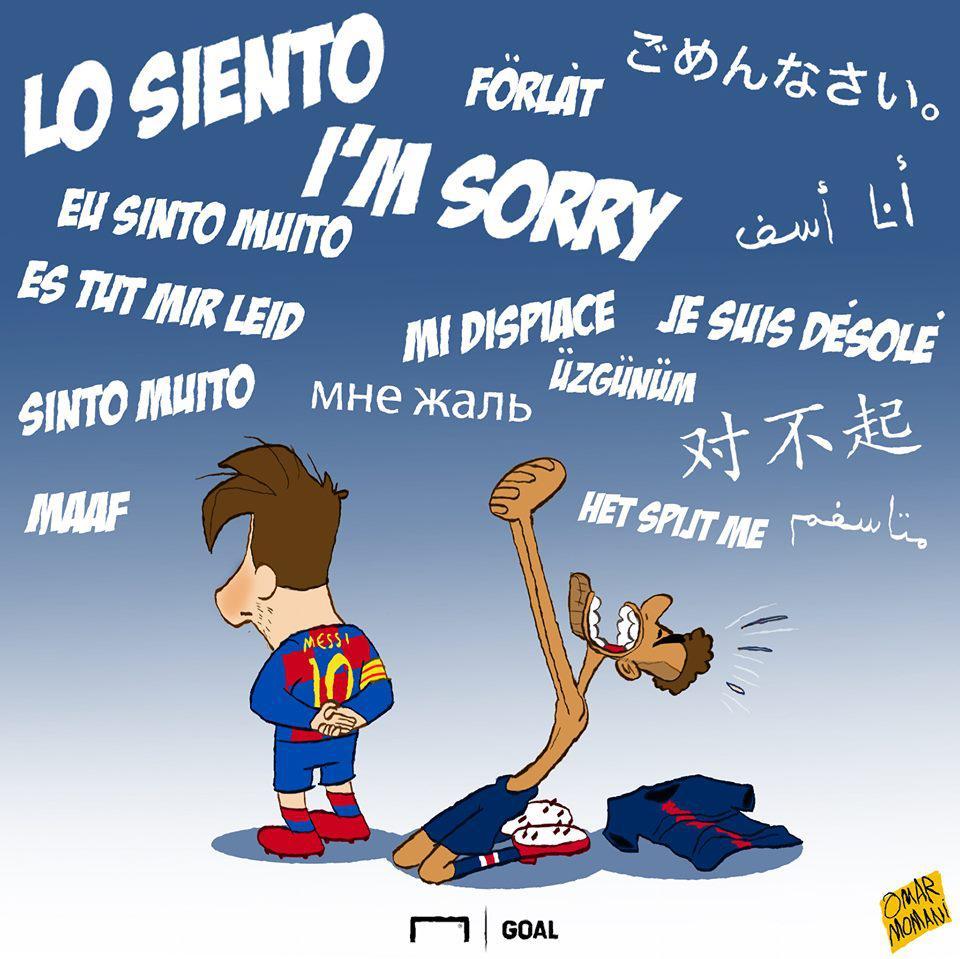 Biếm họa 24h: Colombia nhận cái kết đắng, Messi đọ sức Coutinho Ảnh 6