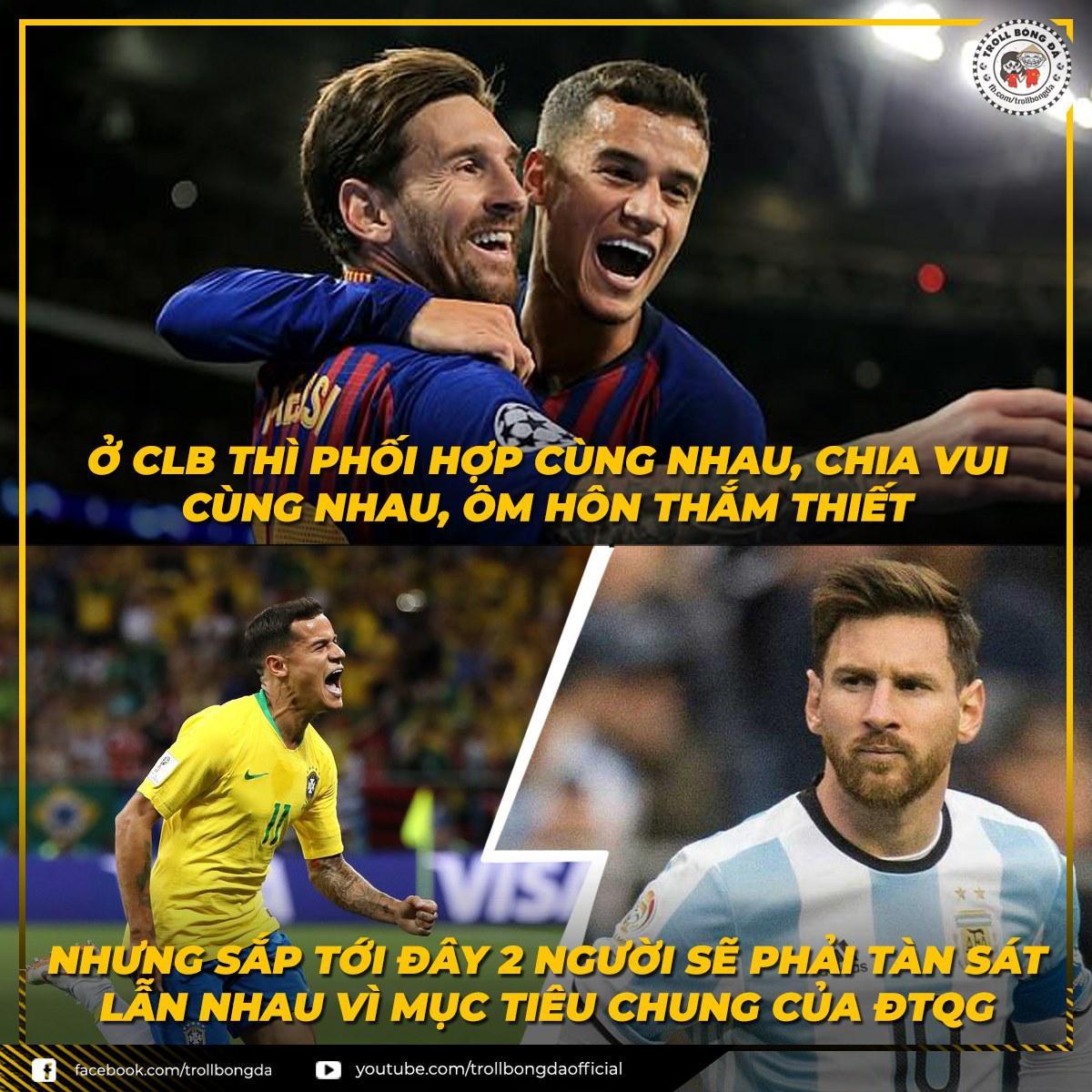 Biếm họa 24h: Colombia nhận cái kết đắng, Messi đọ sức Coutinho Ảnh 5