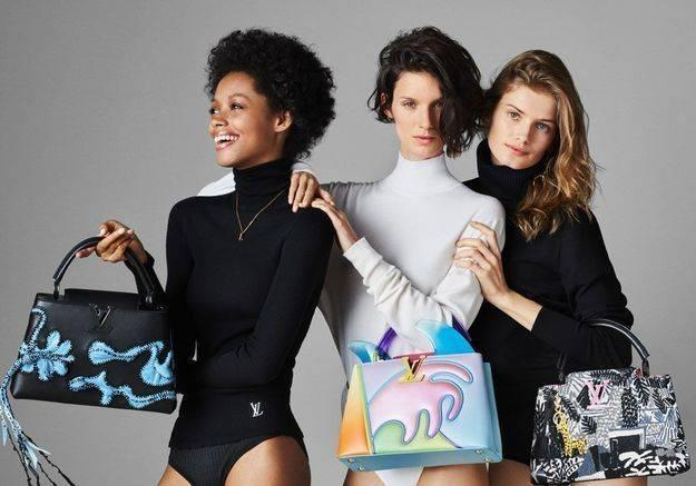 Túi xách Arty Capucines, dấu ấn của Louis Vuitton và các nghệ sĩ đương đại Ảnh 1