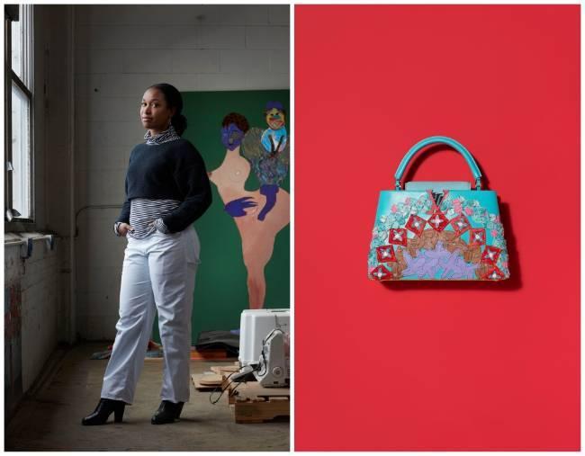 Túi xách Arty Capucines, dấu ấn của Louis Vuitton và các nghệ sĩ đương đại Ảnh 4