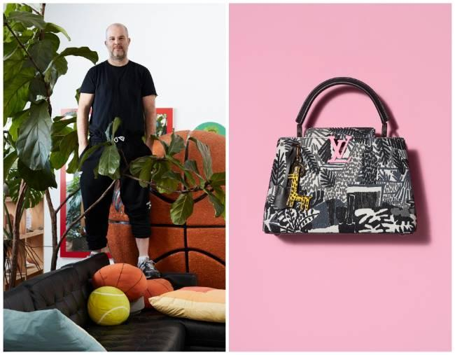 Túi xách Arty Capucines, dấu ấn của Louis Vuitton và các nghệ sĩ đương đại Ảnh 9