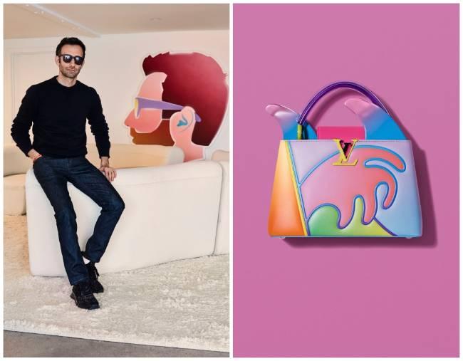 Túi xách Arty Capucines, dấu ấn của Louis Vuitton và các nghệ sĩ đương đại Ảnh 7
