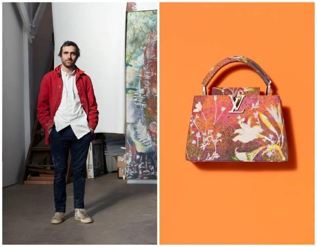 Túi xách Arty Capucines, dấu ấn của Louis Vuitton và các nghệ sĩ đương đại Ảnh 5