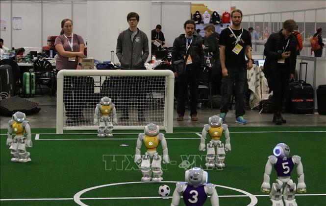 Giải đấu bóng đá người máy lớn nhất hành tinh - RoboCup 2019 Ảnh 1
