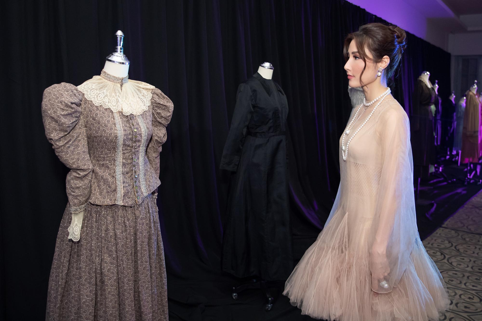 Diễm My 9X hóa 'nàng thơ', đụng hàng Song Hye Kyo với váy Dior Ảnh 4