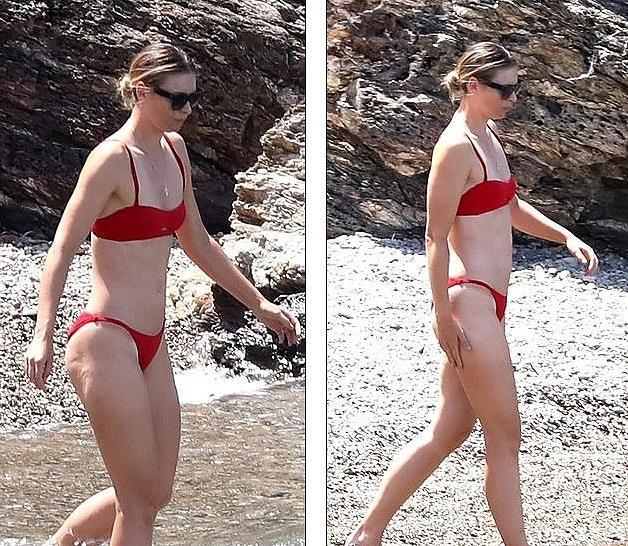 'Búp bê Nga' Maria Sharapova diện bikini thả dáng ở Ý Ảnh 2