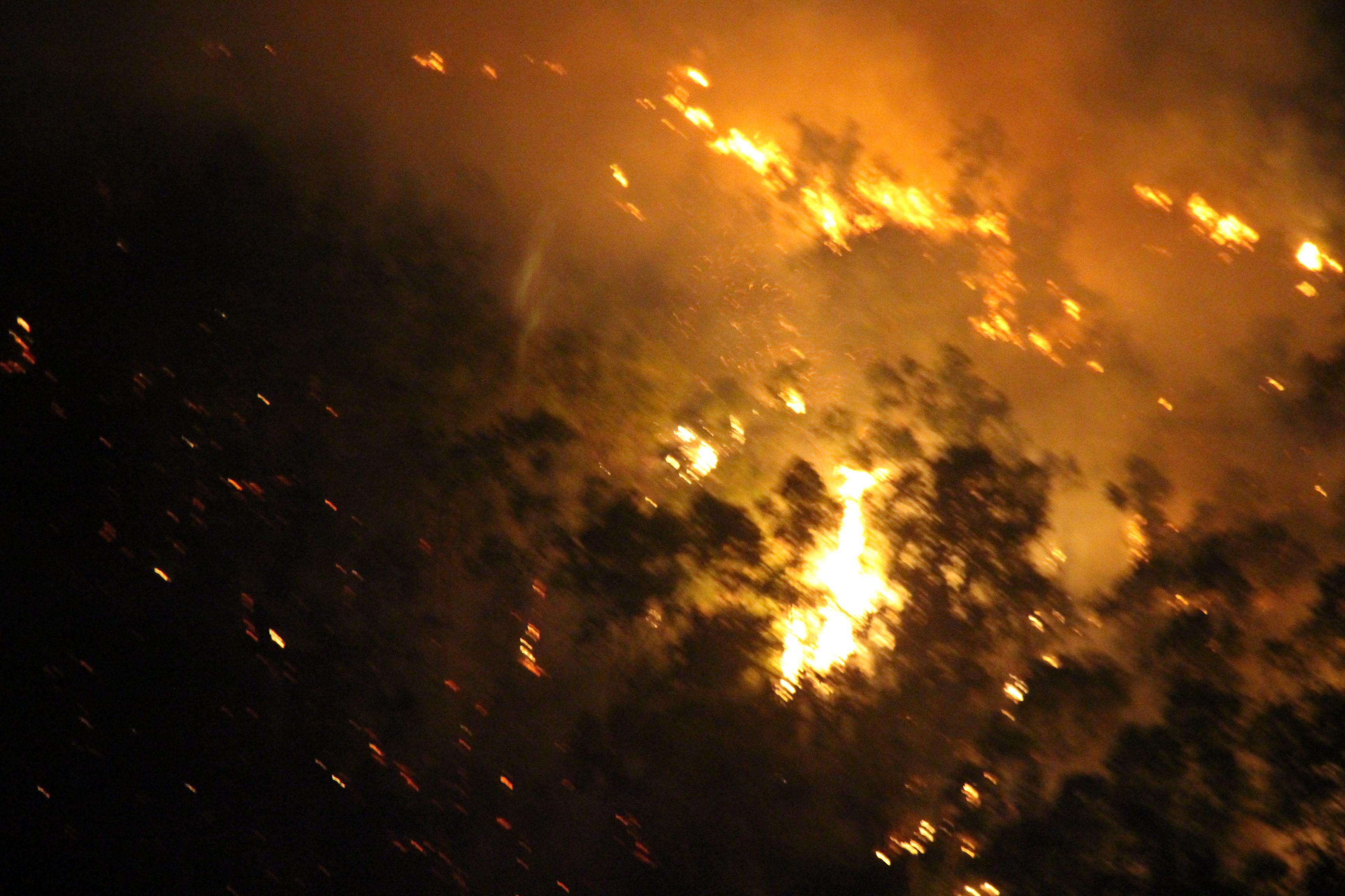 Cháy núi Bà Hỏa giữa đêm, hàng trăm hộ dân Quy Nhơn hoảng loạn Ảnh 1