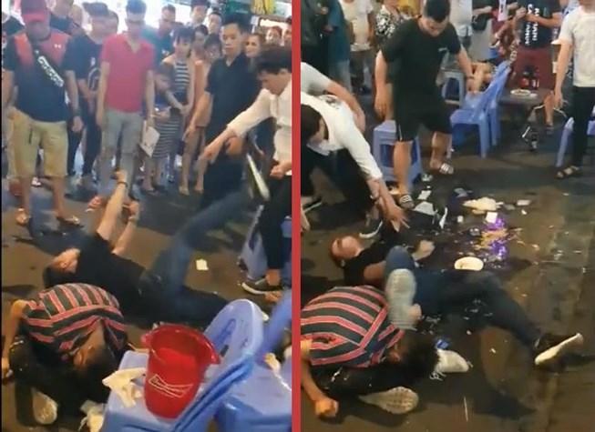 3 thanh niên nghi bị sốc bóng cười, cỏ mỹ ở phố Bùi Viện Ảnh 1