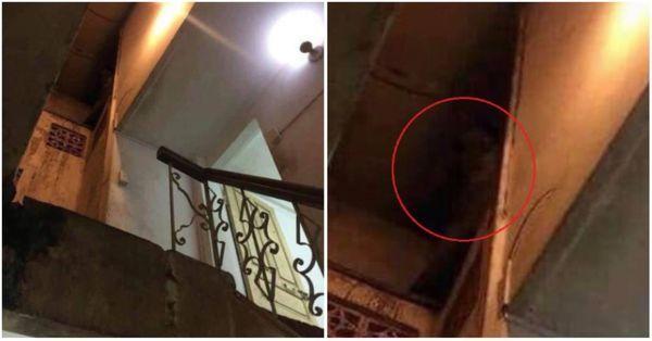 Thực hư câu chuyện sau bức hình về 'hồn ma nữ' ám ảnh khu nhà trọ Ảnh 1