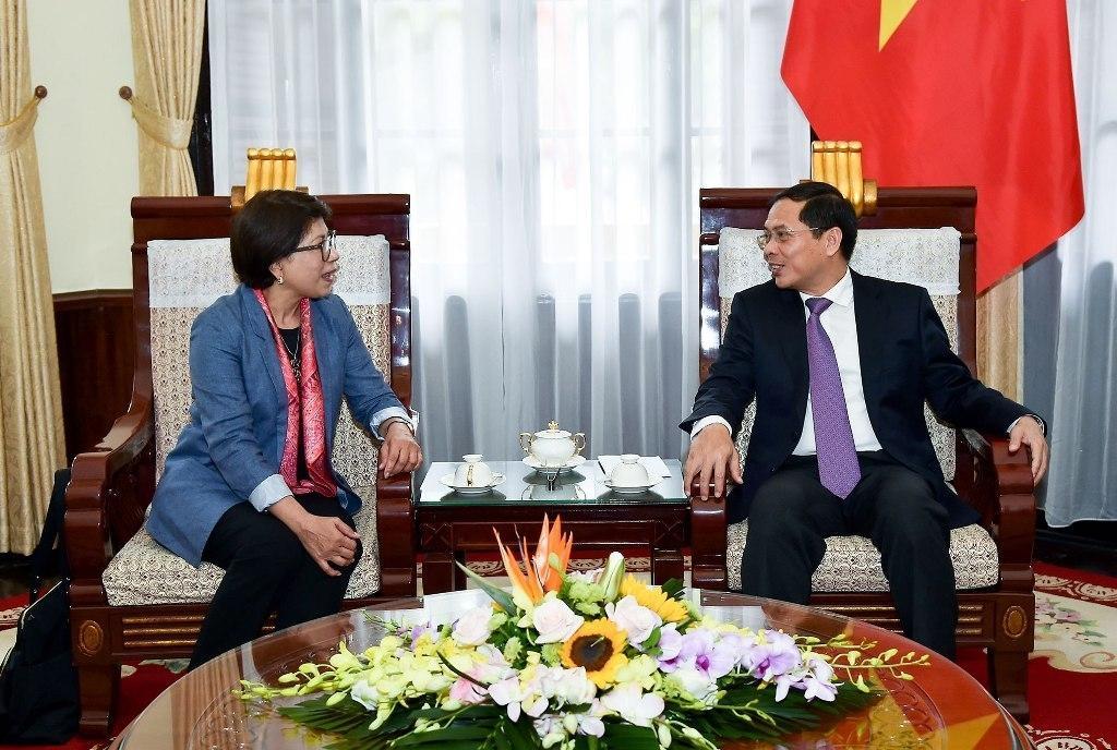 Đẩy mạnh hợp tác giữa Việt Nam và Ban Thư ký APEC Ảnh 1