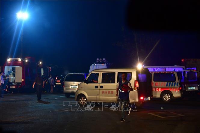 Nổ nhà máy khí đốt tại Trung Quốc: Con số thương vong tiếp tục tăng Ảnh 1