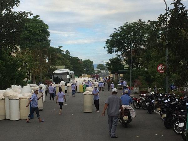 Thừa Thiên Huế: Cháy kho chứa bông nguyên liệu tại Khu công nghiệp Phú Bài Ảnh 4