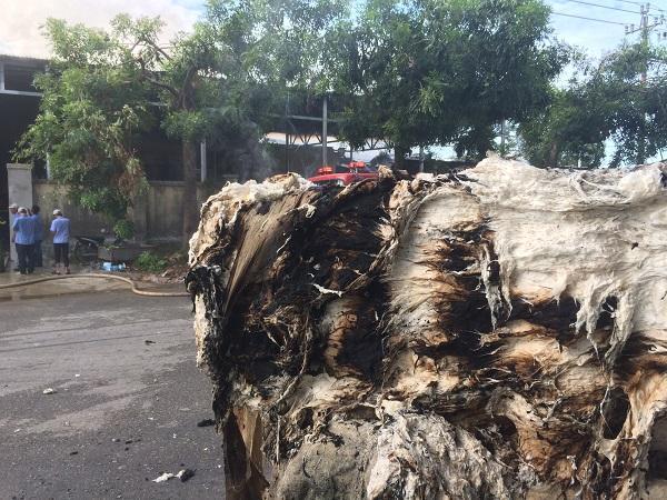 Thừa Thiên Huế: Cháy kho chứa bông nguyên liệu tại Khu công nghiệp Phú Bài Ảnh 5