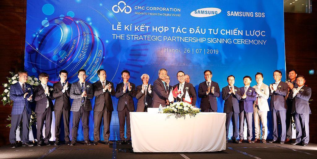 Samsung SDS và CMC hợp tác phát triển các hệ thống thông minh Ảnh 1