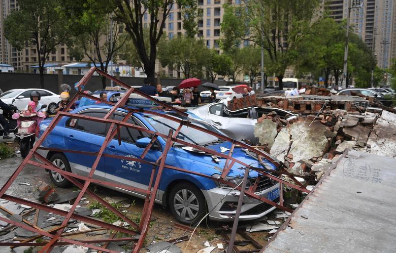 Trung Quốc tan hoang sau trận bão Lekima làm hàng chục người chết Ảnh 8