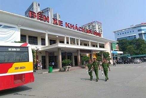 Hà Nội tăng cường xe khách phục vụ người dân dịp lễ mùng 2-9 Ảnh 1