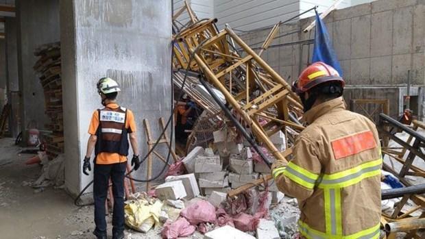 Hàn Quốc: Sập thang máy tại công trường xây dựng, 6 người thương vong Ảnh 1