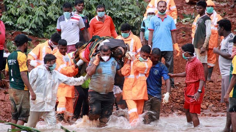 Hơn 200 người tử vong vì mưa lũ, Ấn Độ ban bố tình trạng khẩn cấp Ảnh 1