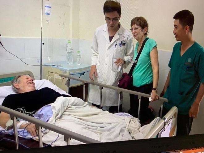 Bệnh viện Quân y 175 cứu sống ông lão người Úc bị nhồi máu cơ tim Ảnh 1
