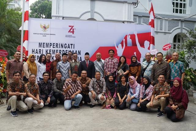Kỷ niệm 74 năm Quốc khánh Indonesia Ảnh 2